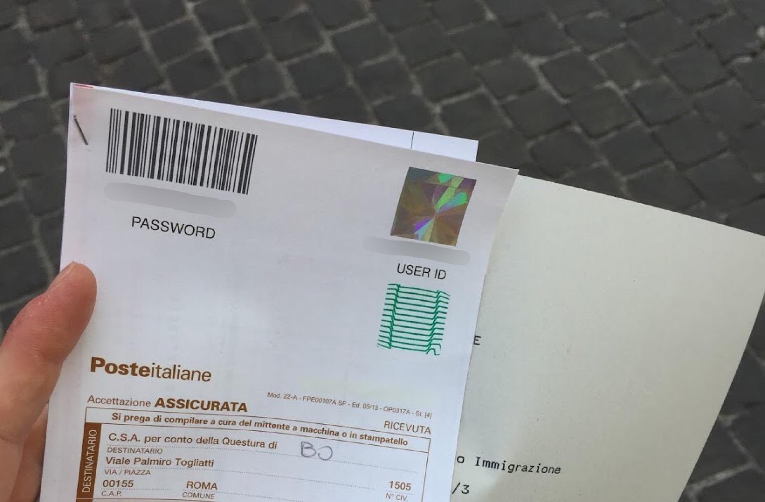 Traveling With a Permesso di Soggiorno Receipt - Expat Alexa